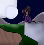 Lunnella in the Moonlight by Brutalwyrm