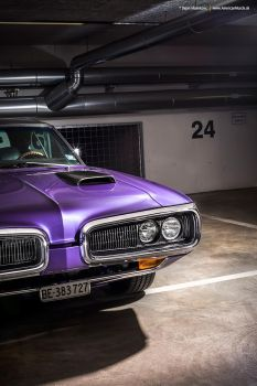 Plum Crazy 1970 Dodge Coronet - Shot 13 by AmericanMuscle