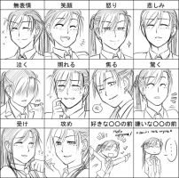 Expression meme: Ty Sun by Lowawawah