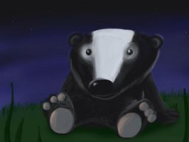 a badger by rogan