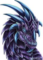 Purple Dragon Icon by DrakainaQueen