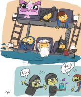 The Lego Movie, doodles 2 by Ayej