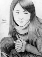 Moon Geun Young drawing by frost1993