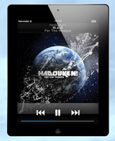 Rainmeter ipad media player by krunchh