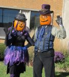 Gourdon and Zuccia Pumpkinhead 2015 - 3b by Windthin