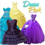 pack de 4 vestidos by DrivewithVH