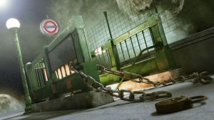 Surreal Subway Entrance by DarkNemos