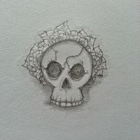 Skull by BlackWolf182