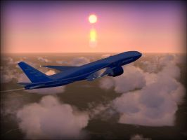 FSX - 13,000 ft above Alabama by TomsPics