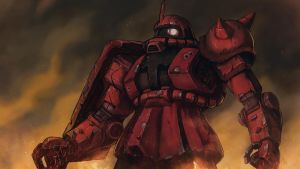 MS-06 Zaku II - Heavy Damaged by Silver-Fate