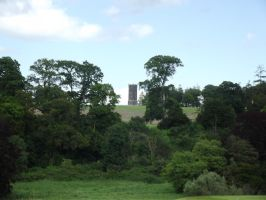 Tower on Hill by folipoo