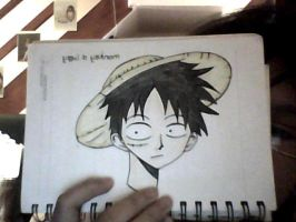 Monkey D. Luffy by Hannahhbananahh