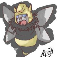 DEADLY DEADLY BUMBLEBEE by PWAM