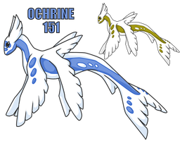 Fakemon 151 - Ochrine by yellowdrakex