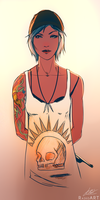 Chloe Price by raikoart