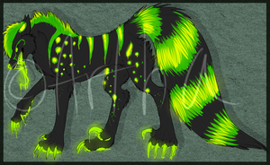 Toxic Canine Cash Auction by Artha-Adopts