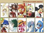 Fav Characters Meme by aun61