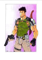 CHRIS REDFIELD. RESIDENT EVIL by Dani-Castro