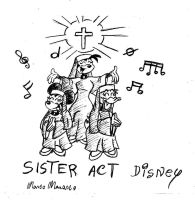 Sister Act disney by MarcoMarasco