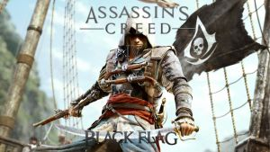 Assassins Creed IV Black Flag Logo by GraphicsTutorials