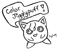 Color Jiggly Puff by somechick73