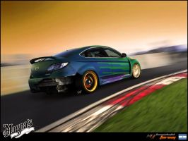 _Mazda 6 Hatchback_ by magnanimus