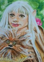 ATC Kira and Fizzgig by waughtercolors