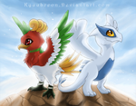 Two legends by Kyuubreon