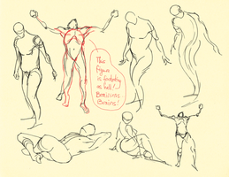 Hampton p.6-13: Gesture Studies I (Crit Welcome) by theThirdCartel