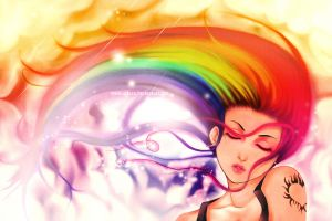 Like a Rainbow BG by AikaXx