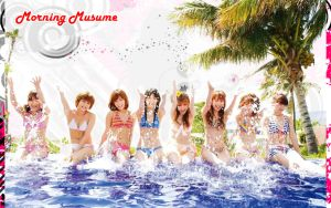 Morning Musume in Hawaii by NEO-Musume