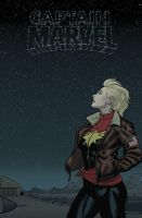 Captain Marvel - GROUNDED by quin-ones