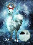 Chocobo and Sheep - Xmas [XPS] by LexaKiness