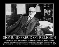 Sigmund Freud on religion by fiskefyren