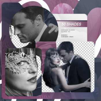 Png Pack 732 // 50 shades of Grey (Poster) by confidentpngs
