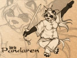 Enter the Pandaren by ClemiKinkajou