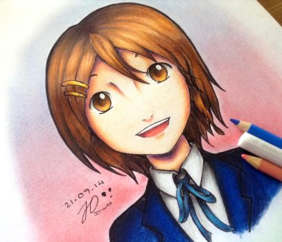 Yui (K-ON!) by JO-arts