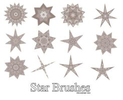 Star brushes by AlenaJay