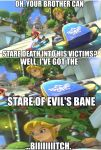 Link's got his Master Death Stare on (Meme) by Sergeant-Sunflower
