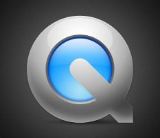 Quicktime Light icon by Lukeedee