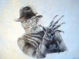 Freddy Krueger by Christoph-Schneider