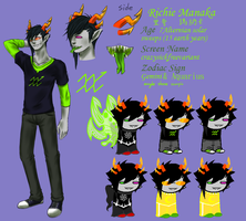 My fantroll Richie Manaka by yuhhei4666