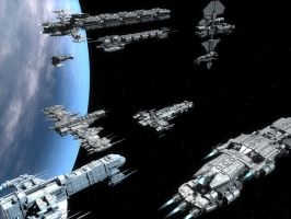Fleet 1 by macmuelli