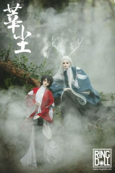 Ringdoll ancient Chinese Shen and Chen by Ringdoll