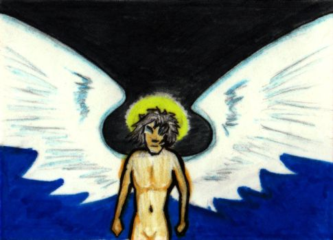 Angel - ATC - Available by dumpsterfiregypsy
