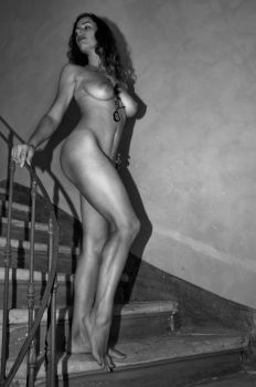Jessy _ the stairs 01 by DanSOLER
