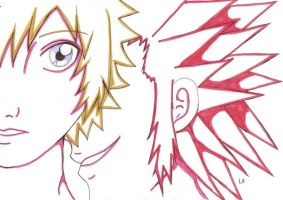 Axel X Roxas by Icetiger92