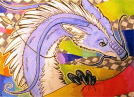 ACEO: These Colors of Mine by cloudstar-wolf