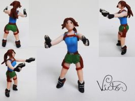 Lara Croft by VictorCustomizer