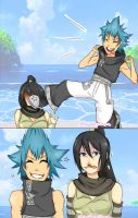 The things Tsubaki puts up with by SxnrioChan